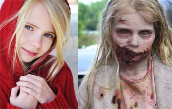 NC's Addy Miller starred in episode 1 of 'The Walking Dead'.