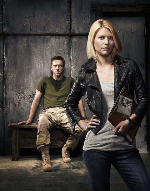 Damian Lewis and Claire Danes star in 'Homeland'