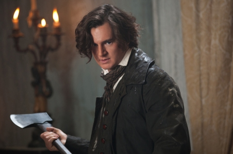 'Abraham Lincoln: Vampire Hunter' stars Benjamin Walker.