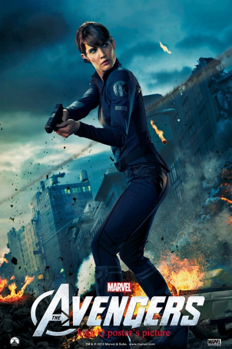 Cobie Smulders stars as Agent Maria Hill in 'The Avengers'.