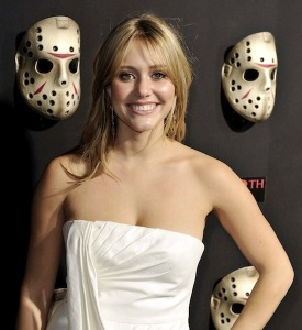 Winston-Salem native Julianna Guill at the Friday the 13th premiere in 2009. (Getty Images)