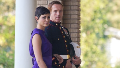 Morena Baccarin and Damien Lewis star in Showtime's 'Homeland'.