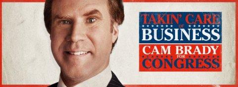 'The Campaign' stars Will Ferrell.
