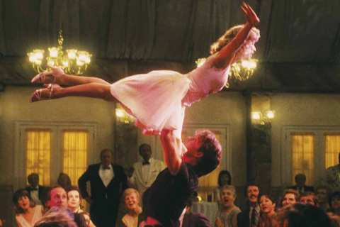 'Dirty Dancing' (1987), filmed in Lake Lure, NC stars Patrick Swayze and Jennifer Grey.
