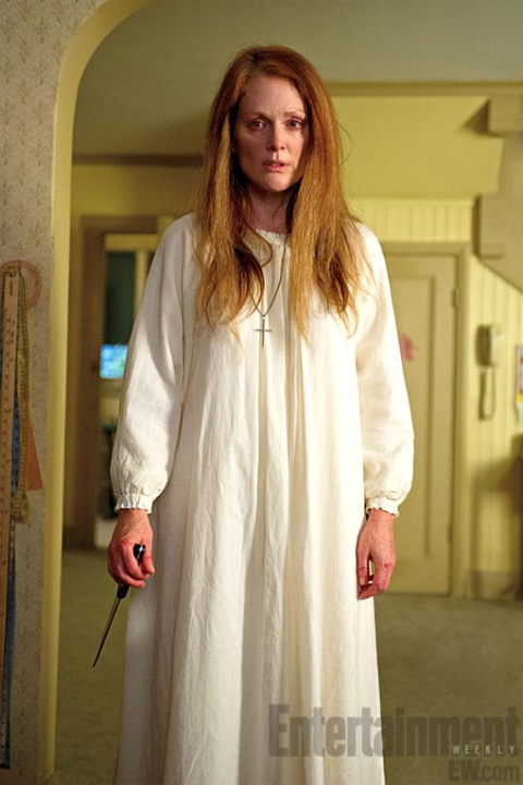 Fayetteville's Julianne Moore is Margaret White in 'Carrie'.