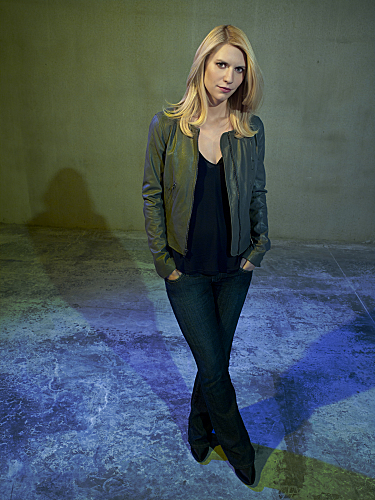 Claire Danes stars as Carrie Mathison in 'Homeland'.