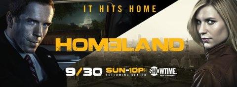 'Homeland' Season 2 - banner 2