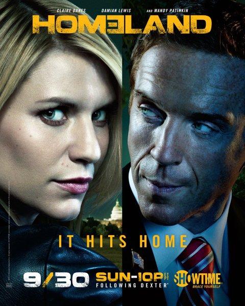 'Homeland' Season 2 - poster 1
