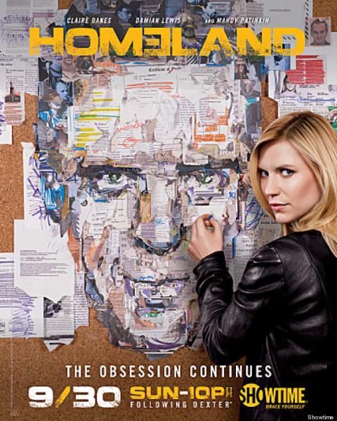 'Homeland' Season 2 - poster 2