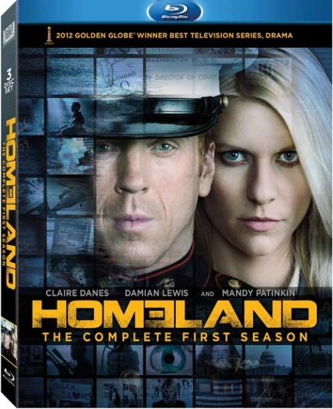 Homeland: The Complete First Season Blu-ray