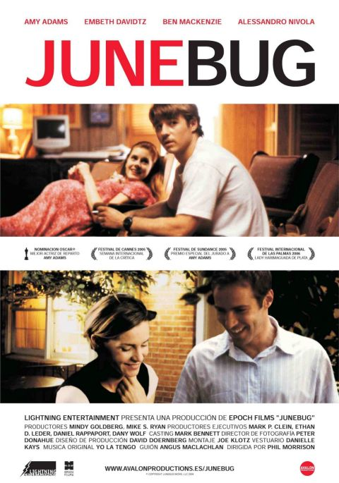 Written by Angus MacLachlin, 'Junebug' (2005) was filmed in Winston-Salem, NC .