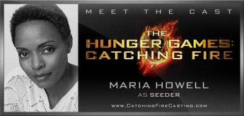 "NC native Maria Howell plays ""Seeder"" in 'The Hunger Games: Catching Fire'."