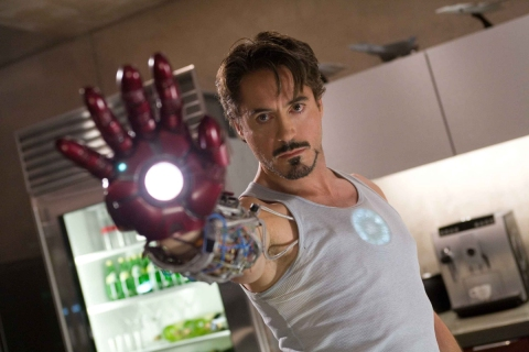 Robert Downey Jr. is Iron Man.