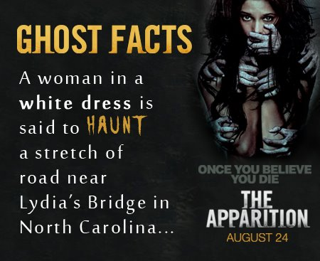 'The Apparition' Ghost Facts - Lydia's Bridge, NC
