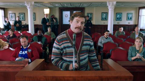 Wilksboro, North Carolina native Zach Galifianakis.
