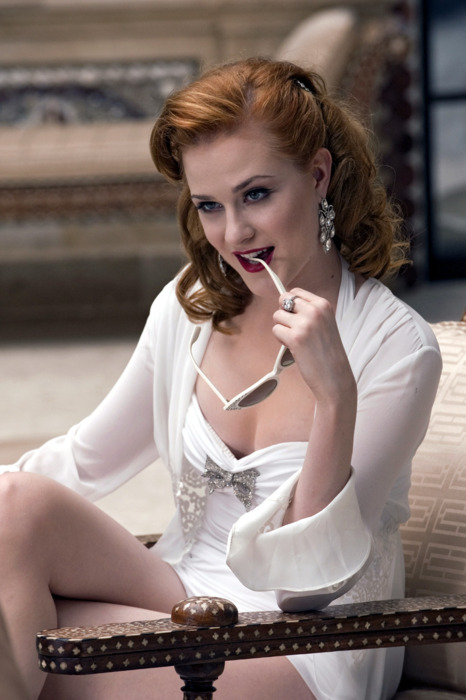 Raleigh, NC native Evan Rachel Wood played vampire Queen Sophie Anne on HBO's 'True Blood'.