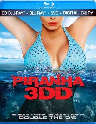 Piranha 3DD - 3D Blu-ray Combo Pack