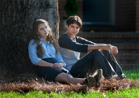 Morgan Saylor as Dana Brody and Taylor Kowalski as Xander in Homeland (Season 2, Episode 4). - Photo: Kent Smith/SHOWTIME