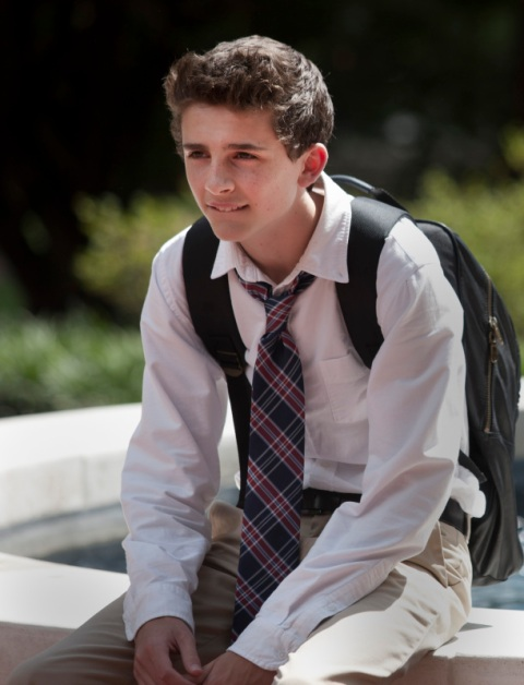 Timothee Chalamet as Finn Walden in Homeland' Season 2, Episode 5. (photo: Kent Smith/Showtime).
