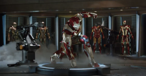 Iron Man 3 - trailer teaser screen shot