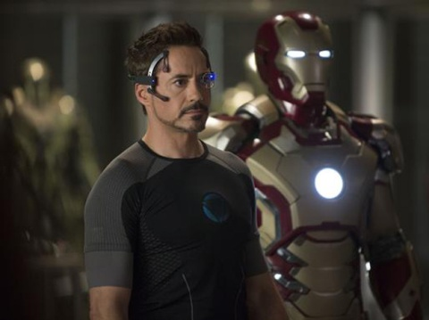 Robert Downey Jr. stars in 'Iron Man 3'.