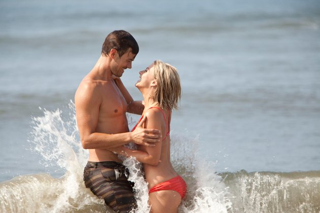Josh Duhamel and Julianne Hough star in 'Safe Haven', filmed in Southport, NC.