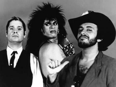 Ozzy Osbourne, Tony Fields, and Gene Simmons star in 'Trick or Treat', filmed in Wilmington, NC.