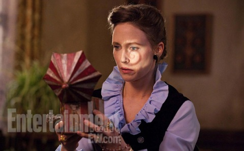 Vera Farmiga stars in 'The Conjuring', filmed in Wilmington, NC. (photo: EW.com)