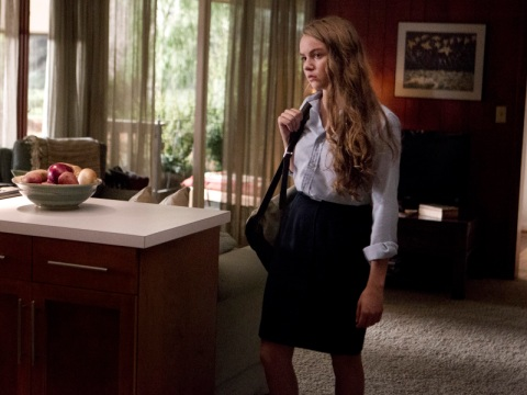 Morgan Saylor as Dana Brody in 'Homeland' Season 2, Episode 6. (photo: Kent Smith/Showtime)