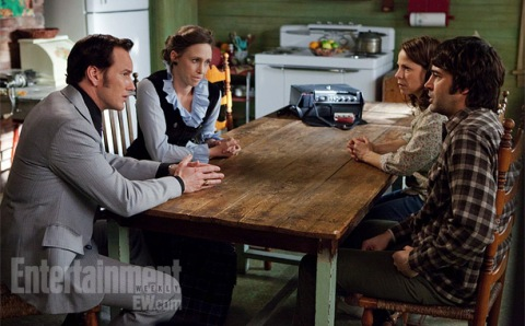The cast 'The Conjuring' on the Wilmington, NC set. (photo: EW.com)