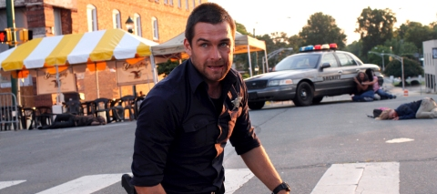 Antony Starr is Lucas Hood in Cinemax's 'Banshee'.