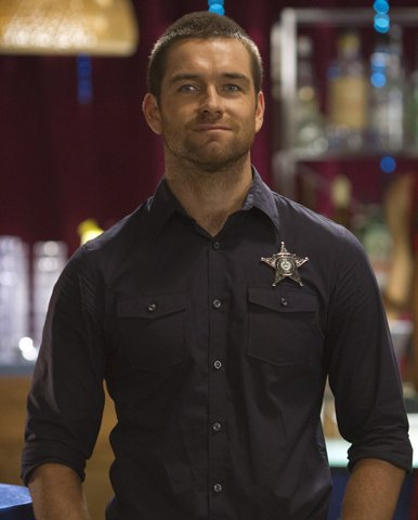 Antony Starr is acting sheriff in Cinemax's 'Banshee'.