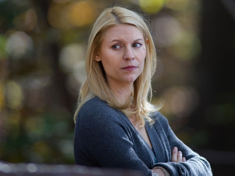 Claire Danes is nominated for Best Actress on a Drama Series for Showtime's 'Homeland', filmed in Charlotte, NC. (Photo: Kent Smith / Showtime)