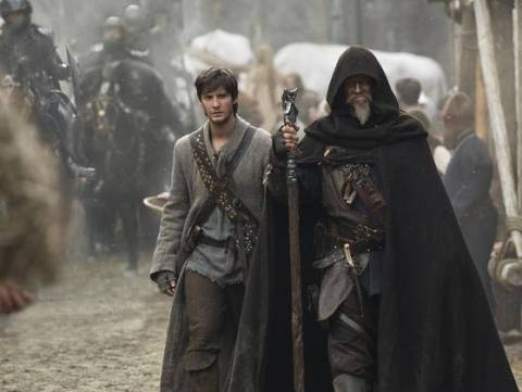 Ben Barnes and Jeff Bridges co-star in 'Seventh Son'. (photo: Kimberly French, Warner Bros. Pictures)