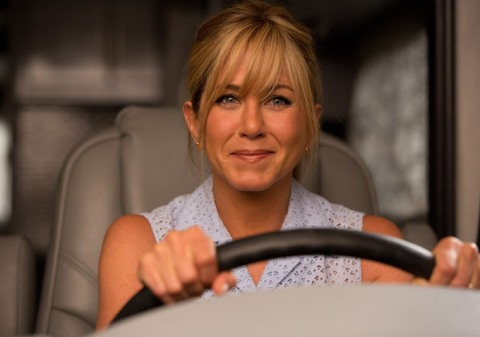 Jennifer Aniston is Rose in 'We're the Millers', filmed in Wilmington, NC.