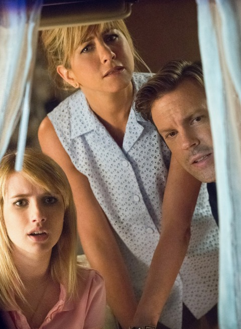 Emma Roberts, Jennifer Aniston, and Jason Sudekis star in 'We're the Millers'.