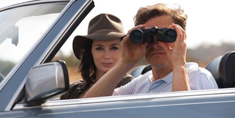 Emily Blunt and Colin Firth look for love in 'Arthur Newman'.