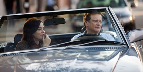 Emily Blunt and Colin Firth star in 'Arthur Newman', filmed in North Carolina.