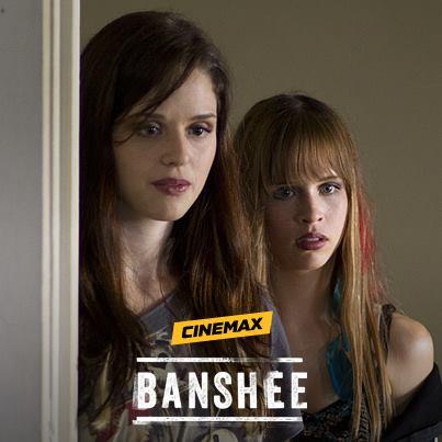 Chelsea Cardwell and Ryan Shane star in 'Banshee'.