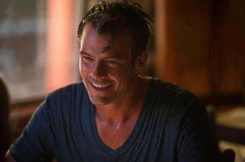 Josh Duhamel stars in 'Safe Haven', filmed and set in Southport, North Carolina.