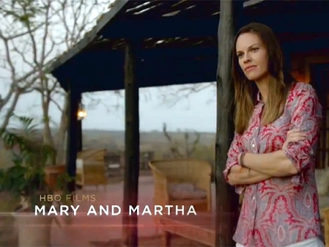 Hilary Swank stars in HBO's 'Mary and Martha', filmed in Southport and Wilmington, North Carolina.