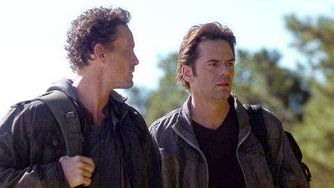 David Lyons and Billy Burke star in NBC's 'Revolution', filmed in Wilmington, NC.
