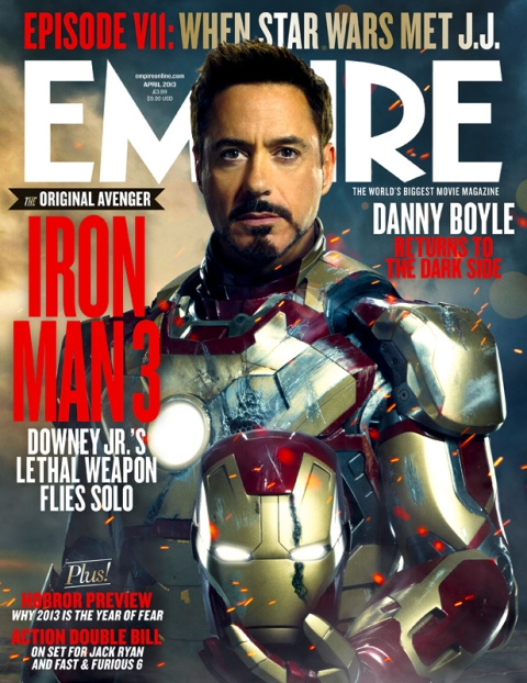 Iron Man 3 - Empire cover