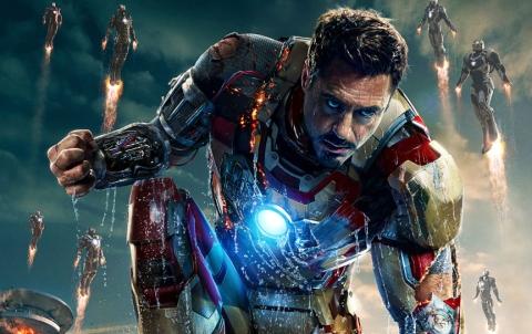 Iron Man 3 - Iron Man poster cropped