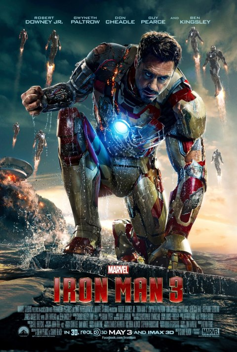 Iron Man 3 - Iron Man poster