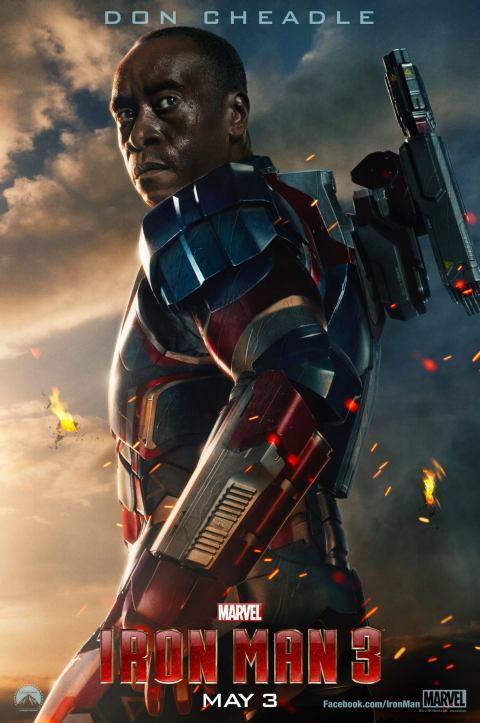 Iron Man 3 - Iron Patriot poster