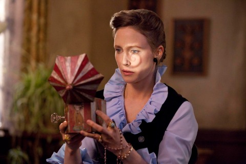 Vera Farmiga stars in 'The Conjuring', from the director of 'Saw and 'Insidious', filmed in Wilmington, NC.