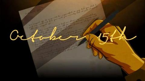 'Wheatley's Letters' is an animated series of webisodes that go deeper into the world of NBC's 'Revolution'.