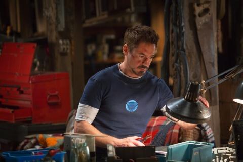 Robert Downey Jr. is Tony Stark in Marvel's 'Iron Man 3'.