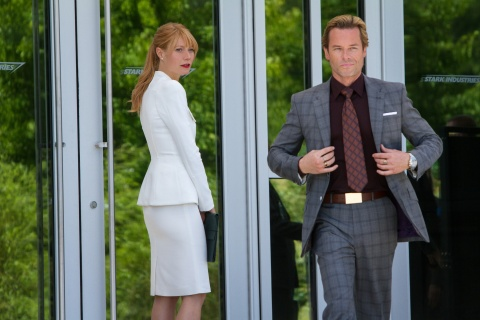 Gwyneth Paltrow and Guy Pearce star in Marvel's 'Iron Man 3'.